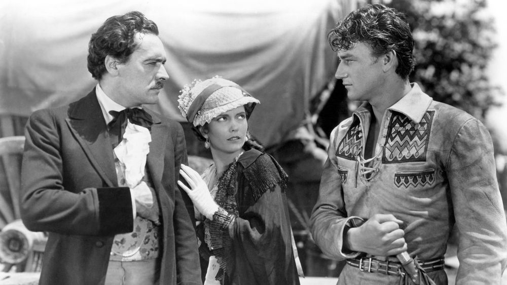 A still from The Big Trail (1930)