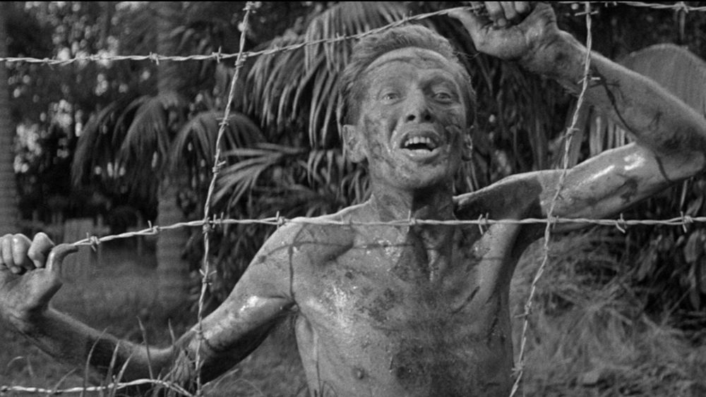 A still from The Camp on Blood Island (1958)